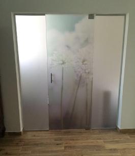 דלת זכוכית לבית